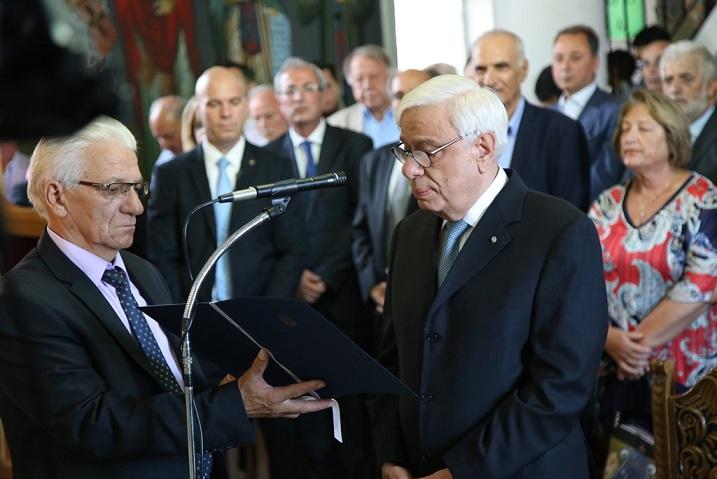 Με την παρουσία του Προέδρου της  Δημοκρατίας ο εορτασμός του Αγίου Κοσμά του Αιτωλού στη γενέτειρά του