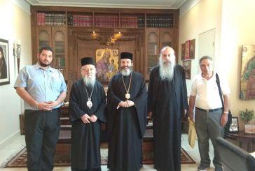 Στο Μεσολόγγι ο Επίσκοπος Μεσαορίας
