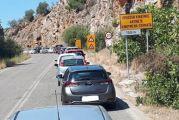 Ταλαιπωρία οδηγών λόγω έργων έξω από τη Βόνιτσα