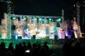 Πλήθος στην πλαζ της Ναυπάκτου για την συναυλία Κατσιμίχα-Καζούλη