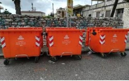 200 νέοι κάδοι απορριμμάτων στο Δήμο Ι.Π. Μεσολογγίου