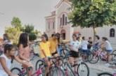 Μεγάλη συμμετοχή στην ποδηλατάδα στα Καλύβια