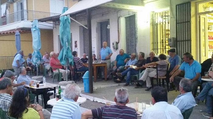Περιοδεία και συγκέντρωση του ΚΚΕ σε Φυτείες και Παπαδάτου