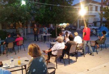 ΚΚΕ: Περιοδεία στις Φυτείες και συγκέντρωση στην Παπαδάτου