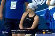 Διακρίθηκε και στο ευρωπαϊκό πρωτάθλημα κολύμβησης ΑμεΑ η Αγρινιώτισσα Μαρίζα Γουργολίτσα