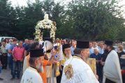 Η Μεγάλη Χώρα εόρτασε με λαμπρότητα τον πρωτοχριστιανικό ναό της Κοιμήσεως της Θεοτόκου