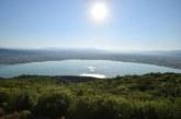 Σημερινή άποψη της λίμνης Οζερού