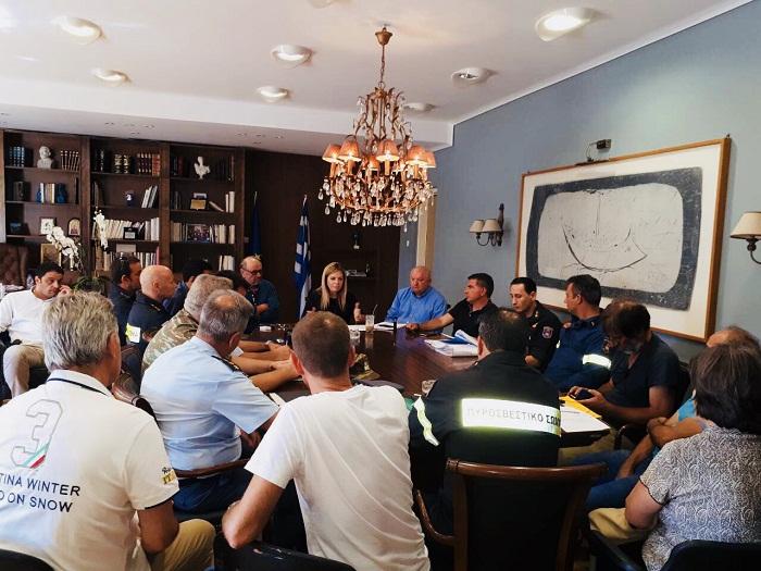 Συνεδρίασε εκτάκτως το Συντονιστικό Πολιτικής Προστασίας Αιτωλοακαρνανίας λόγω του υψηλού κινδύνου  πυρκαγιάς