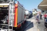 Συλλήψεις για τη φωτιά στο βενζινάδικο στο Αγρίνιο