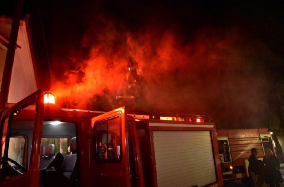Ζημιές από φωτιά σε σπίτι στον Άγιο Ανδρέα Μακρυνείας