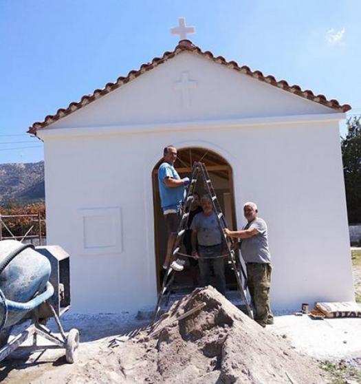 Στη μνήμη της αδικοχαμένης 22χρονης Μαρίας το εκκλησάκι της Παναγίας στο Ρίβιο