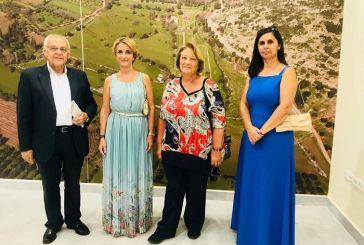 H σύζυγος του Προέδρου της Δημοκρατίας στο Αρχαιολογικό Μουσείο Θέρμου