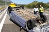 Iόνια Οδός: τούμπαρε όχημα στη Γαβρολίμνη