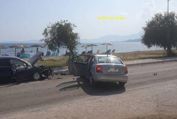 Mετωπική στον παραλιακό δρόμο Παλαίρου – Πογωνιάς