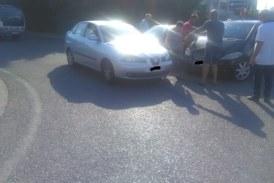 Τραυματίας σε τροχαίο με εμπλοκή τριών αυτοκινήτων στον Ρεμπελιά