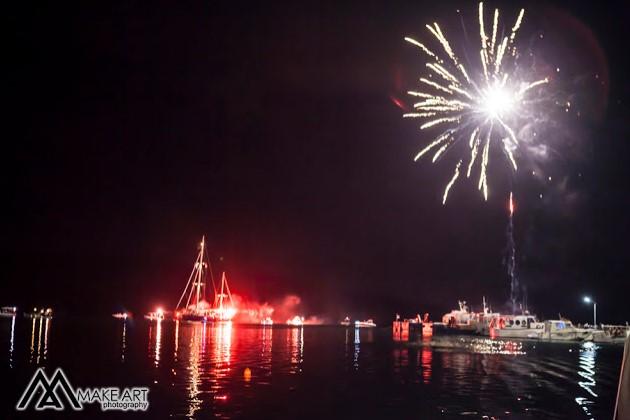 Εντυπωσιακή η γιορτή της Βαρκαρόλας στον Αστακό (φωτο)