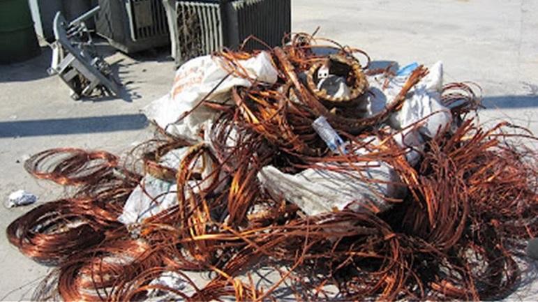 Πλιάτσικο σε εργοτάξιο στον Κουβαρά από «κυνηγούς»  χαλκού