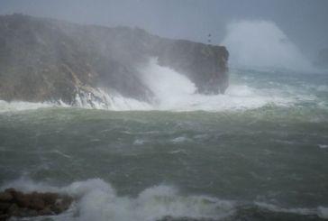 Σε επιφυλακή για τον κυκλώνα «Ζορμπά»: Θα φέρει κύματα 11 μ., από πού θα περάσει