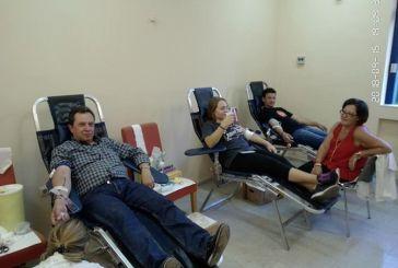 Με μεγάλη συμμετοχή η εθελοντική αιμοδοσία στο Θέρμο