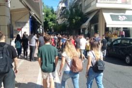 Μαθητική πορεία στο Αγρίνιο για την επέτειο μνήμης της δολοφονίας του Παύλου Φύσσα