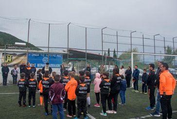 Παρουσία γονέων και φίλων του ποδοσφαίρου ο αγιασμός στην Ακαδημία Θέρμου (φωτο)