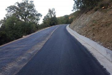 Mε γοργό ρυθμό προχωρά η κατασκευή του δρόμου Αετόπετρα-Δρυμώνας Θέρμου (φωτό)