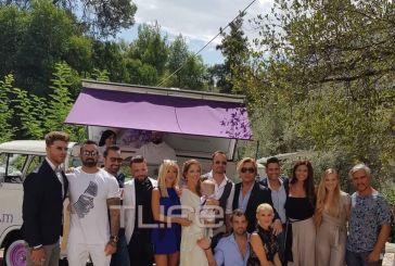 O Γιώργος Λιανός έγινε νονός στο Αγρίνιο με καλεσμένους τους Survivors και τον Τρύφωνα Σαμαρά!