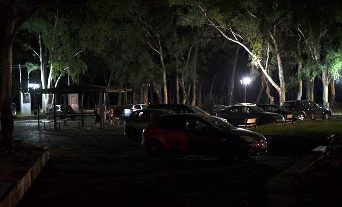 """Ομάδα πολιτών """"Saltsinistas"""": Μαύρο σκοτάδι στο Πάρκο Δασάκι στο Μεσολόγγι"""