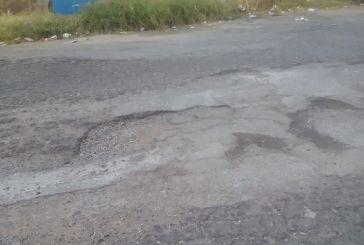 Αγρίνιο: σε τραγική κατάσταση η οδός Κλείσοβας