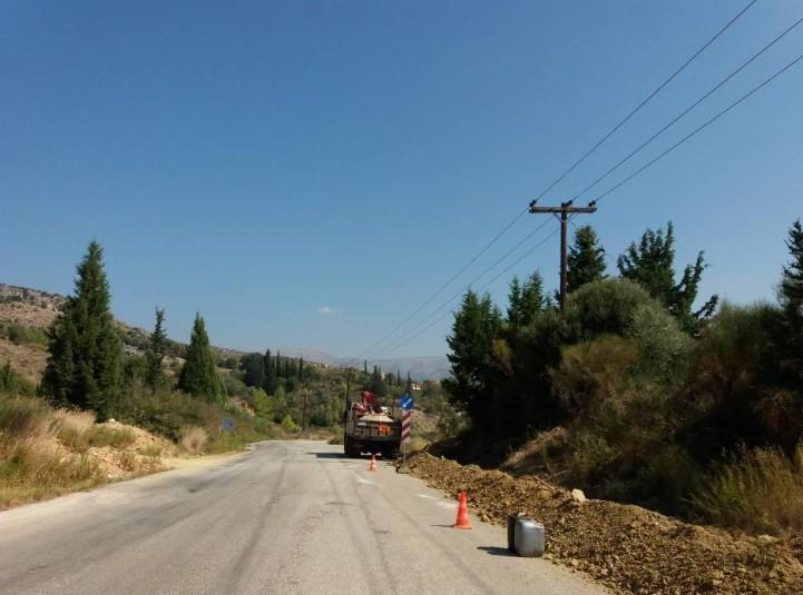 Ξεκίνησαν οι εργασίες για το νέο εσωτερικό δίκτυο ύδρευσης του Αστακού (φωτο)