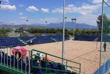 Όλα  έτοιμα για το1οΕυρωπαϊκό Τουρνουά Footvolley -σήμερα φτάνουν στο Αγρίνιο οι αποστολές