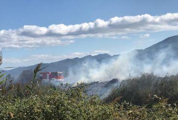 Βλάβη από τον αέρα σε υποσταθμό στη ΔΕΗ προκάλεσε φωτιά στο Κρυονέρι Ναυπακτίας (φωτο-video)