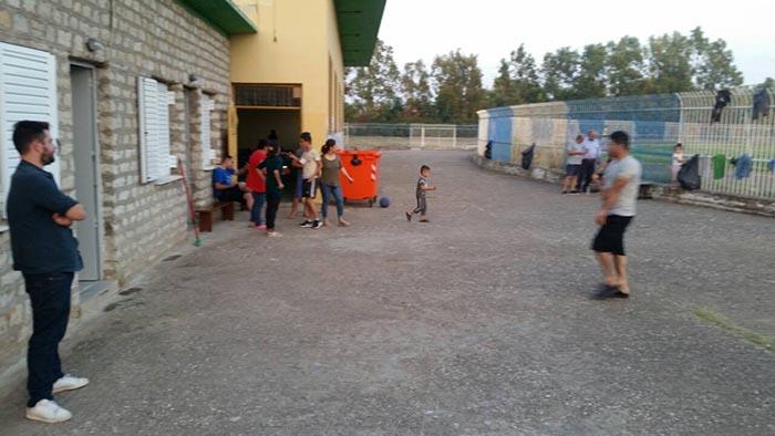 ΚΚΕ: Άθλιες οι συνθήκες φιλοξενίας των μεταναστών στο Μεσολόγγι (φωτο)