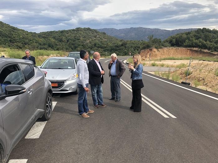 Παρελήφθη και διοικητικά το έργο Κουβαράς – Φυτείες με επίσκεψη Σταρακά