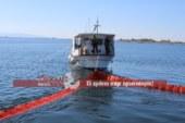 Άσκηση αντιμετώπισης ρύπανσης στο λιμάνι του Μεσολογγίου