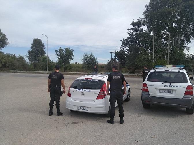 Έτσι πιάστηκαν χθες οι δυο άνδρες για κλοπή σιδήρων στο Αγρίνιο