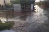 Συνεχείς βλάβες και διαρροές στο δίκτυο υδροδότησης σε δρόμο του Παναιτωλίου