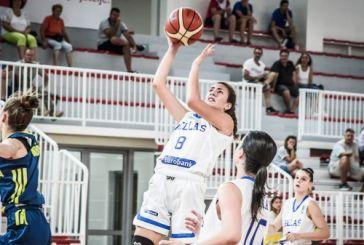 Μπάσκετ: Αργυρό στο Πανευρωπαϊκό με την Εθνική U16 η αγρινιώτισσα Δέσποινα Παπαροϊδάμη
