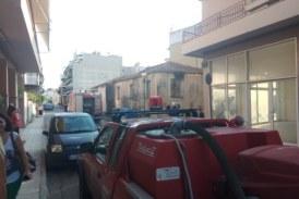 Φωτιά σε εγκαταλελειμμένη κατοικία στο Αγρίνιο