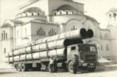 Οι μεγάλοι σωλήνες που μεταφέρθηκαν στο Καστράκι και έδωσαν νερό στο Αγρίνιο