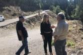 ΗΧριστίνα Σταρακά σε οδικά έργα της Ορεινής Ναυπακτίας