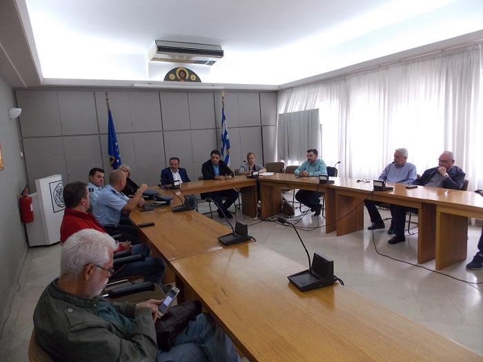 Έτοιμοι για παν ενδεχόμενο δήλωσαν στο Συντονιστικό Πολιτικής Προστασίας στο Αγρίνιο