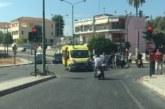 Τραυματίας δικυκλιστής σε τροχαίο στο Αγρίνιο