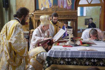 Μεσολόγγι: Χειροτονία Διακόνου στον Ιερό Ναό Αγίας Παρασκευής (φωτο)
