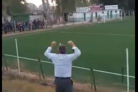 Αιτωλοακαρνανία: «Τρελάθηκε» όταν σκόραρε η ομάδα του!  (βίντεο)