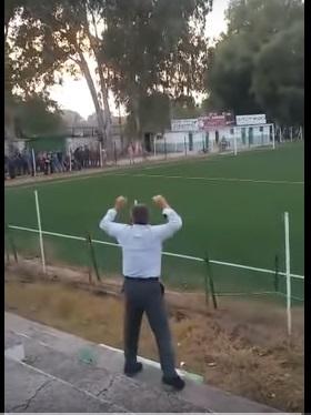 """Αιτωλοακαρνανία: """"Τρελάθηκε"""" όταν σκόραρε η ομάδα του!  (βίντεο)"""