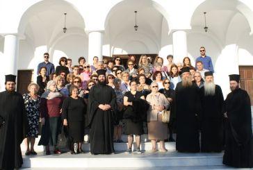 Προσκυνηματική εκδρομή της ενορίας Αγίας Τριάδας Αγρινίου στη Νάξο (φωτο)