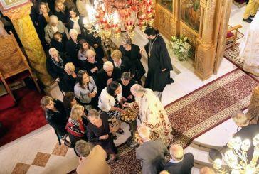 Προεόρτια Αγίου Ιερόθεου στη Ναύπακτο (φωτο)