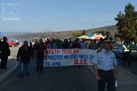 Συλλαλητήριο αγροτών και κτηνοτρόφων στην Αμφιλοχία
