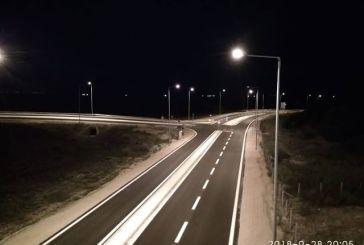Οι τελευταίες πινελιές στο δρόμο Άκτιο-Βόνιτσα (φωτο)